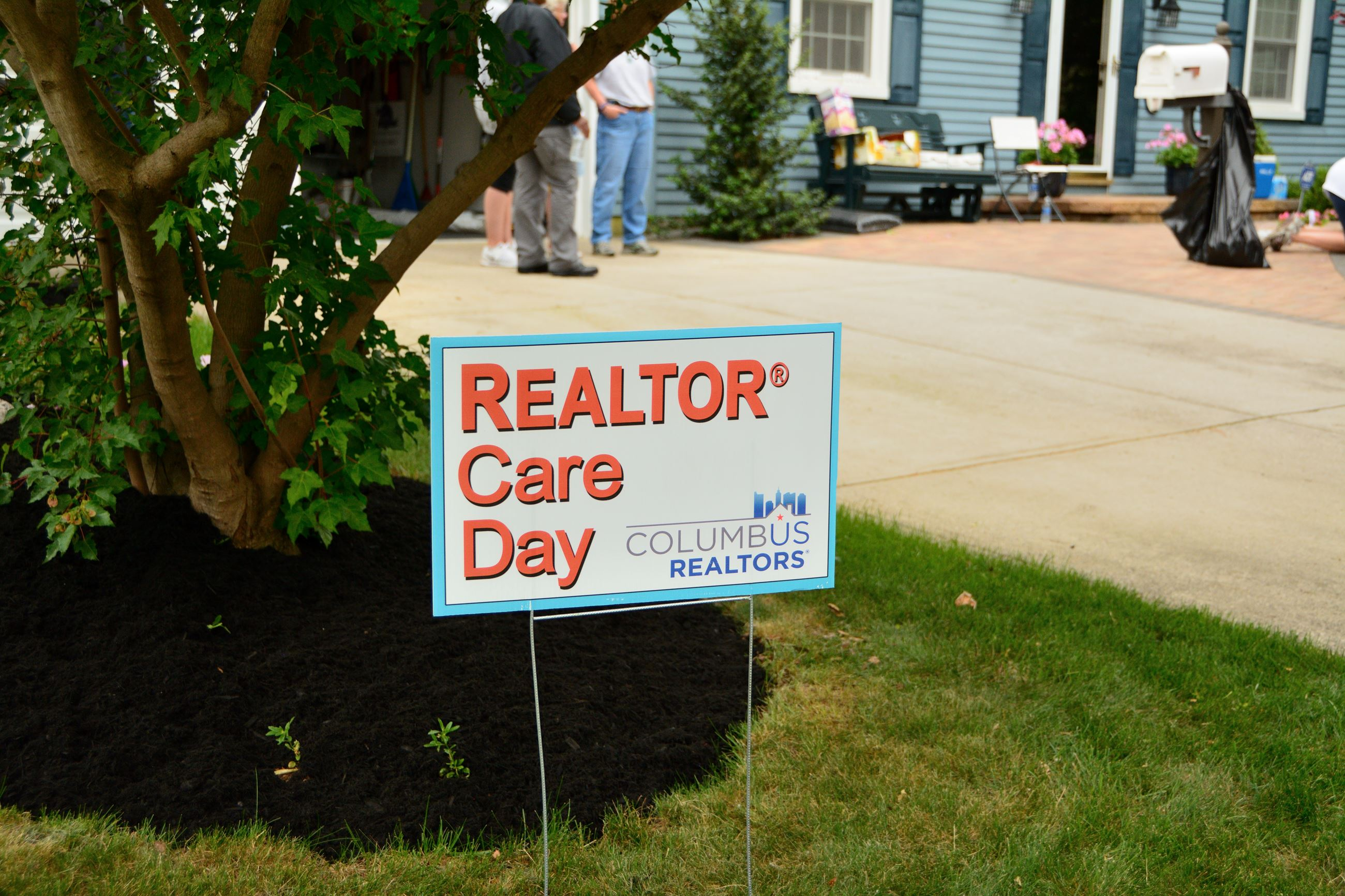 Realtor Care Day Sign