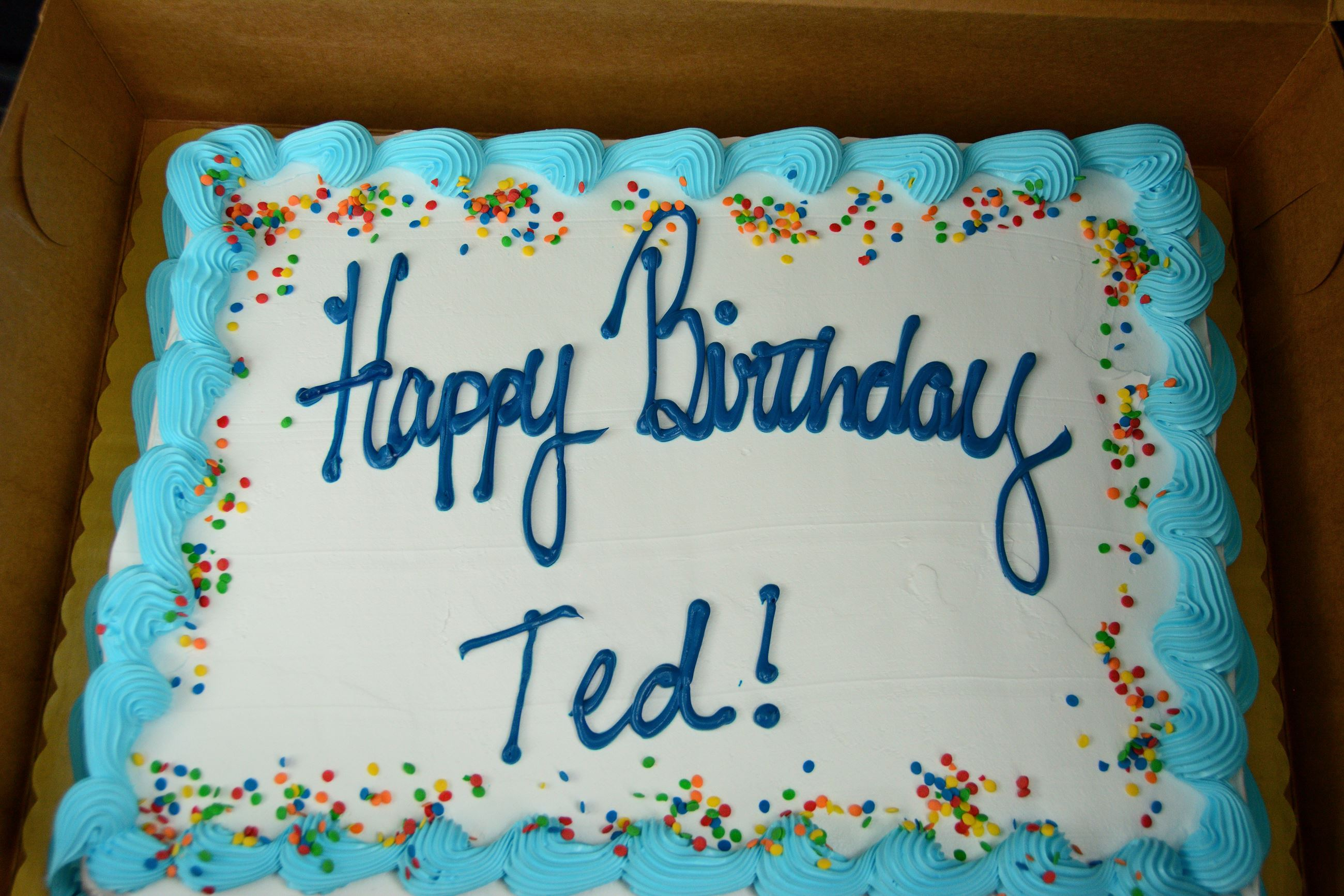 Ted's Cake