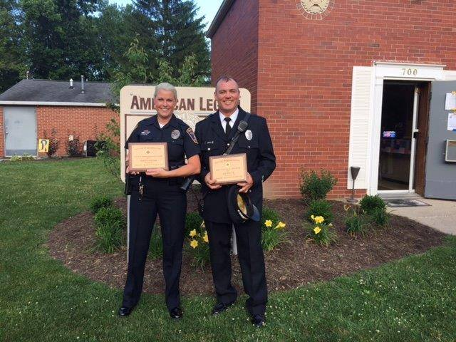 Officer and Firefighter of the year