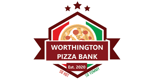 pizza bank graphic