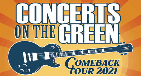 Concerts on the green news flash 2021