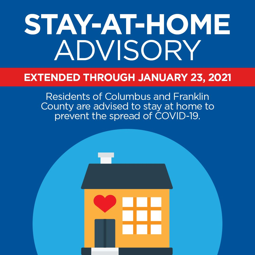 Stay at home graphic to 1-23-21