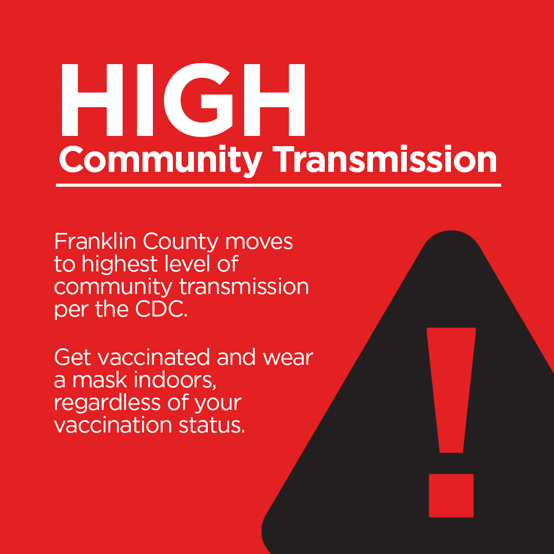 Franklin County Red High Transmission CDC 8-10-2021